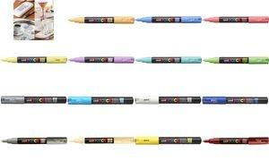 POSCA Pigmentmarker PC-1MC, lachsfarben