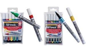 SAKURA Permanent-Marker Pen-Touch Fein, 6er Etui