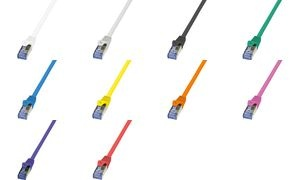 LogiLink Patchkabel, Kat. 6A, S/FTP, 3,0 m, grün