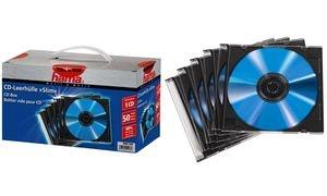 """hama CD-Leerhülle """"Slim"""", Slim Case, Kunststoffbox"""