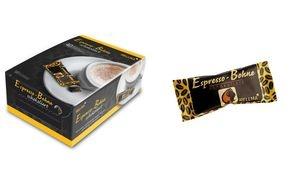 HELLMA Espresso-Bohnen in Zartbitterschokolade, Genießerbox