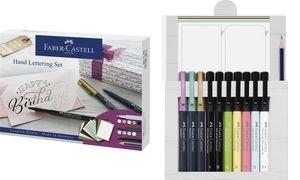 FABER-CASTELL Tuschestift PITT artist pen, 12er Kreativset