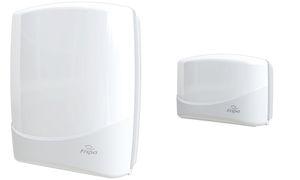Fripa Falthandtuch-Spender, klein, Kunststoff, weiß