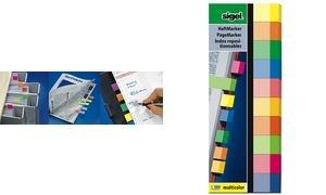 sigel Haftmarker Multicolor, 50 x 15 mm, 500 Blatt