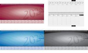 """rido idé Tischkalender """"Sequenz"""", 2020, schwarz"""