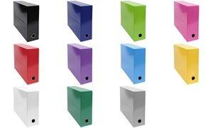 EXACOMPTA Archivbox Iderama, Karton, 90 mm, dunkelgrün