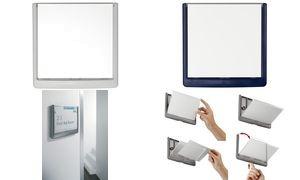 DURABLE Türschild CLICK SIGN, (B)149 x (H)148,5 mm