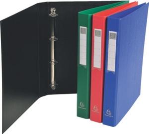 EXACOMPTA Ringbuch PP, 4-Ring-Mechanik, DIN A4, blau
