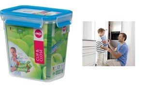 emsa Frischhaltedose CLIP & CLOSE, 1,50 Liter, transparent