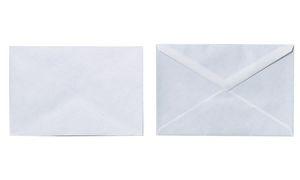 herlitz Briefumschlag, DIN C6, ohne Fenster, weiß