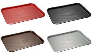 APS Fast Food-Tablett, (B)450 x (T)355 mm, schwarz