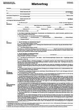 """herlitz Vordruck """"Mietvertrag"""", DIN A4, 4-seitig"""