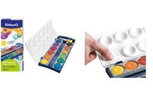 Pelikan Deckfarbkasten Schul-Standard K24, 24 Farben