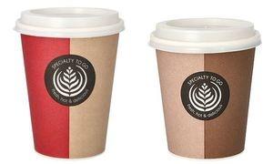 """PAPSTAR Hartpapier-Kaffeebecher """"To Go"""", 0,3 l"""