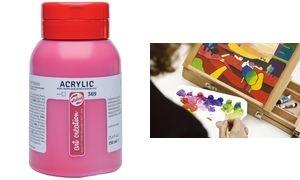 ROYAL TALENS Acrylfarbe ArtCreation, naphtholrot, 750 ml