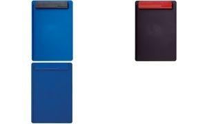 MAUL Klemmbrett OG, Platte: blau / Klemme: schwarz