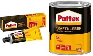 Pattex Compact Gel Kraftkleber, lösemittelhaltig, 125 g Tube