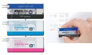 """Tombow Korrekturroller """"MONO note"""", 2,5 mm x 4 m, schwarz"""