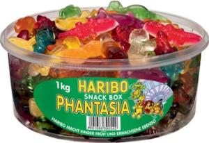 HARIBO Fruchtgummi PHANTASIA, 1 kg Runddose