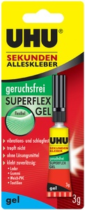 UHU Sekundenkleber SUPERFLEX GEL, 3 g in Tube