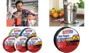 tesa Isolierband ISO TAPE, 15 mm x 10 m, rot