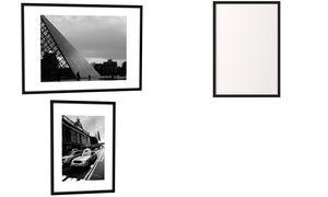 PAPERFLOW Alu-Bilderrahmen, (B)600 x (H)800 mm, schwarz