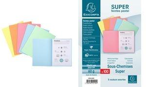 EXACOMPTA Aktendeckel SUPER 60, DIN A4, 60 g/qm, chamois