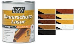 SUPER NOVA Dauerschutz-Lasur, palisander, 750 ml