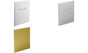 """EXACOMPTA Gästebuch """"Livre d'Or"""", 270 x 220 mm, gold"""