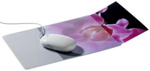 DURABLE Maus Pad plus, extra flach, transparent