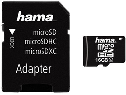 hama Speicherkarte Micro SecureDigital High Capacity, 32 GB