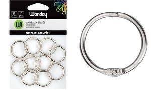 Wonday Verbindungsringe, Durchmesser: 25 mm, aus Metall