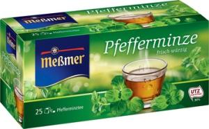 """Meßmer Tee """"Pfefferminze"""", frisch-würzig, 25er Packung"""