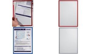 FRANKEN Sichttasche FRAME IT X-tra!Line, DIN A4, rot