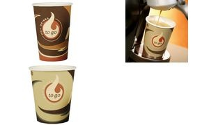 "STARPAK Hartpapier-Kaffeebecher ""Coffee To Go"", 0,3 l"