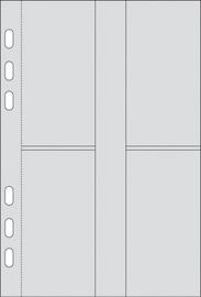"""rido idé Kalender-Einlage """"Visitenkarten-Sammeltasche"""""""