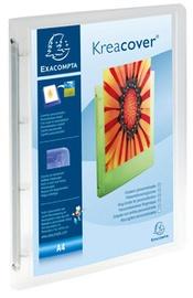 EXACOMPTA Präsentations-Ringbuch, A4, weiß, 4O-Ring Mechanik