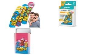 "Lifemed Kinder-Pflaster-Strips ""Ninjas"", 40er Metallbox"