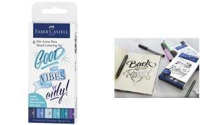 FABER-CASTELL Tuschestift PITT artist pen, 6er Etui