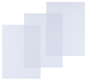 pavo Einbanddeckel, DIN A3, PVC, transparent, 0,15 mm