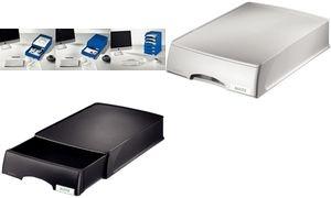 LEITZ Briefablage-Schublade Plus, DIN A4, grau