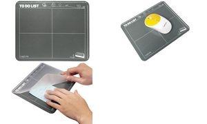 LogiLink Maus Pad im Kalender-Design, mit Einschubfach