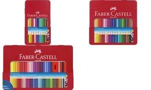 FABER-CASTELL Dreikant-Buntstifte Colour GRIP, 48er Etui