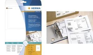 HERMA Versand-Etiketten + Einlieferungsbeleg SPECIAL