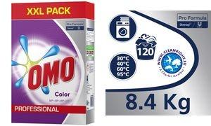 OMO Professional Waschpulver Color, 120 WL, 8,4 kg