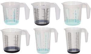 "keeeper Messkanne ""massimo"", 0,5 Liter, graphit/transparent"