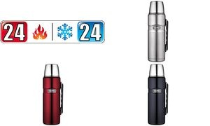 THERMOS Isolierflasche STAINLESS KING, 1,2 Liter, silber