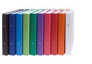 EXACOMPTA Ringbuch, 2 Ring-Mechanik, DIN A4, blau