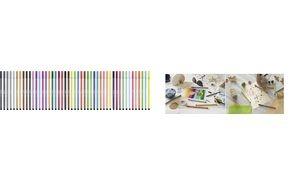STABILO Fasermaler Pen 68, Strichstärke: 1,0 mm, gelbrot