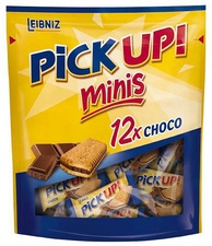 "LEIBNIZ Keksriegel ""PiCK UP! Choco minis"", Beutel"